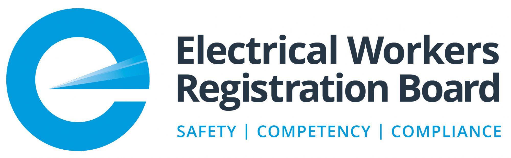 Electricity Workers Registration Board logo