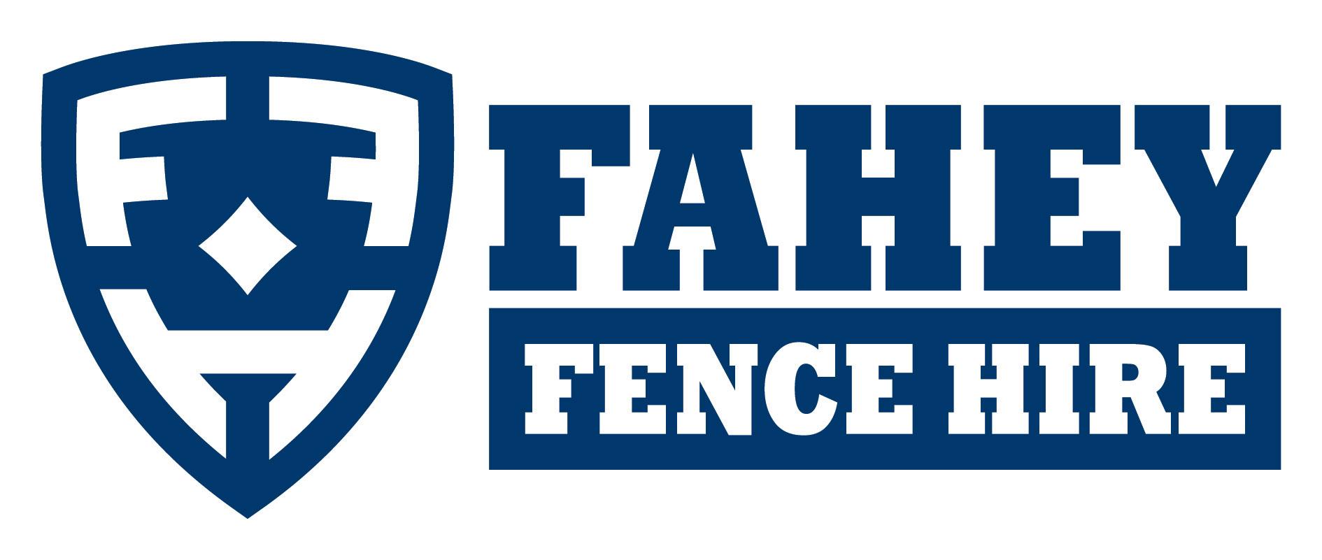 Fahey Fence Hire logo