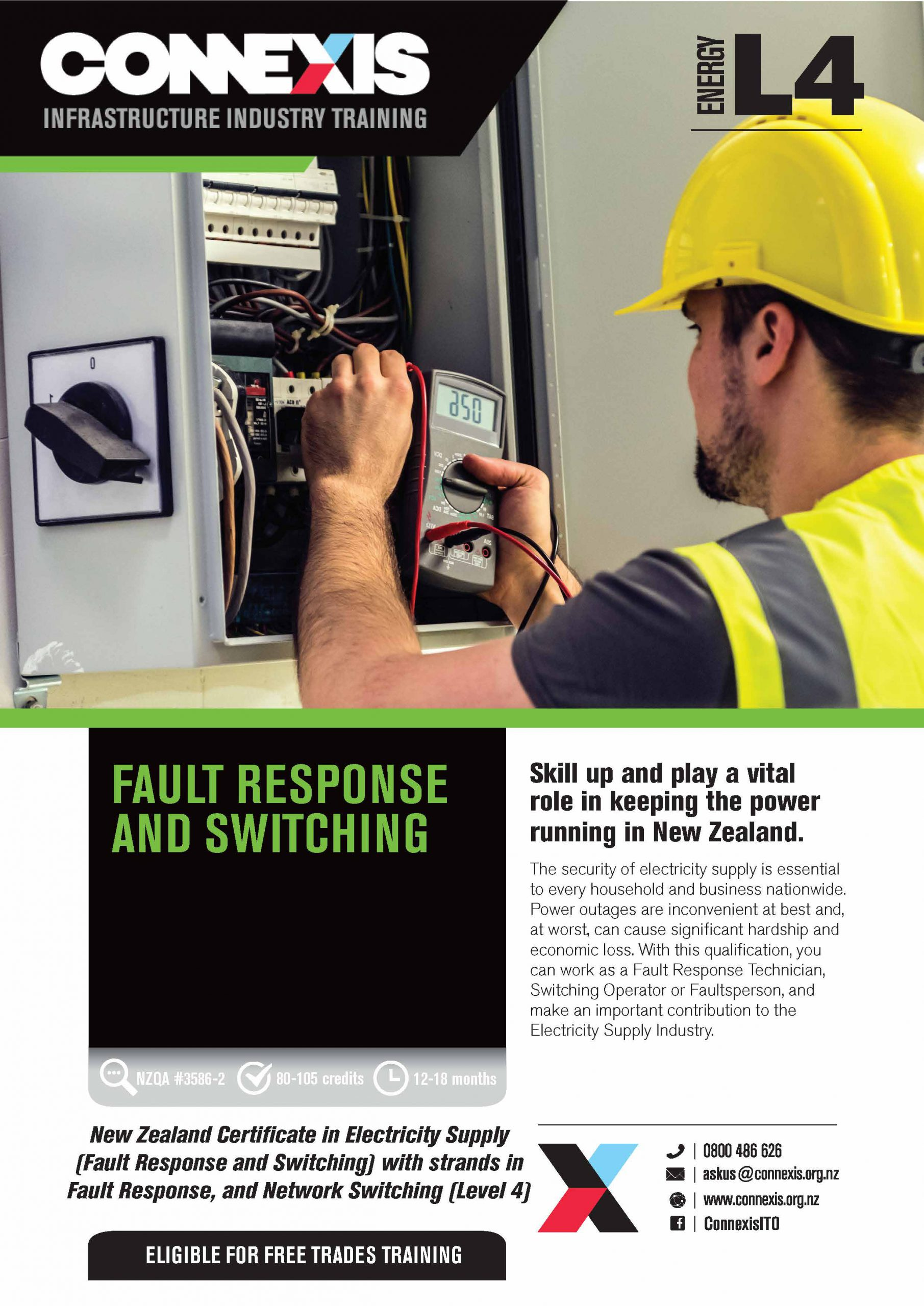 NZC Fault Response and Switching