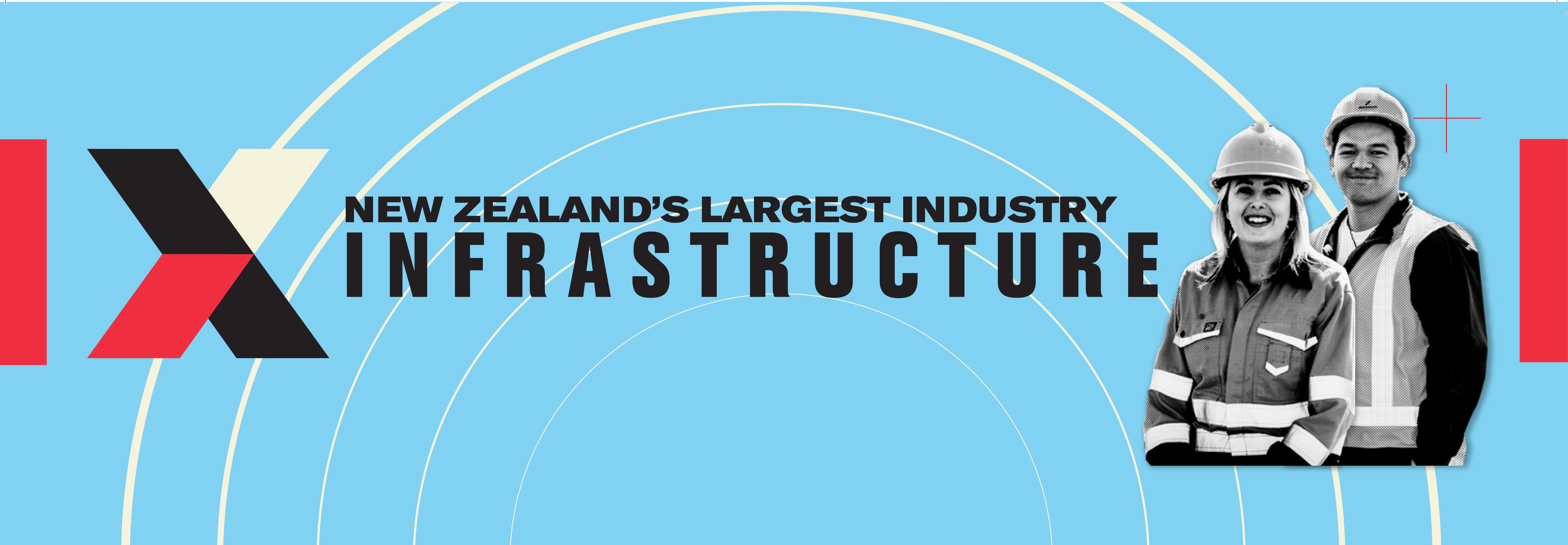 NZ's Largest Industry Infrasturcture